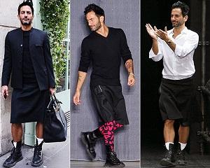 Falda masculina: ¿Ridículo o evolución? (Revista CHICK)