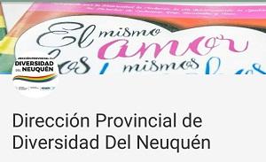 Canal Youtube de la Dirección Provincial de Diversidad de Neuquèn
