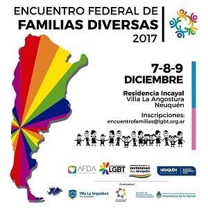 Neuquén será sede del Encuentro Federal de Familias Diversas