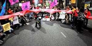 NoHayMásTiempo: exigen frente al Congreso se trate ley de VIH/sida
