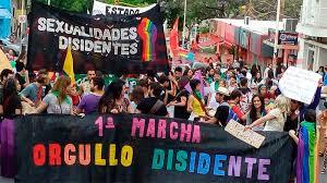 Se realizó en Paraná la segunda marcha del orgullo disidente