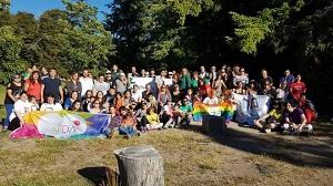 Las familias diversas del país se encontraron en la Angostura