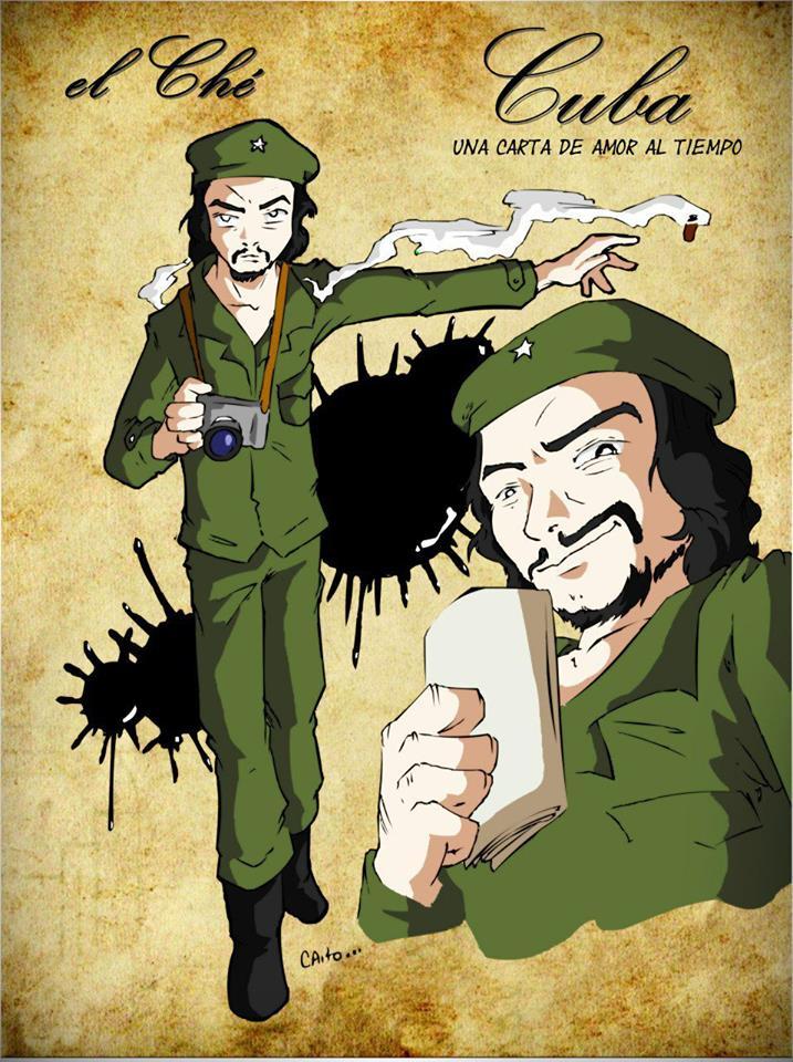 El Che Guevara en cuatro facetas