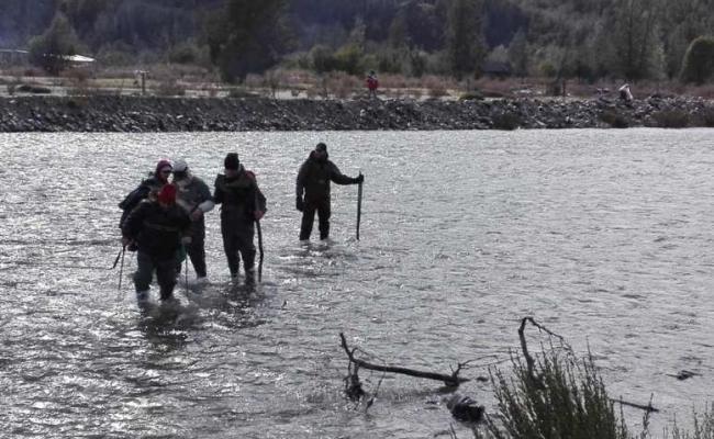 Hallan un cuerpo en río Chubut donde desapareció Santiago Maldonado