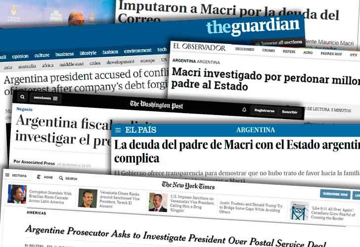 Los Diarios Internacionales y sus opiniones