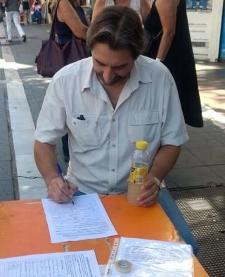 Pablo Carro por los barrios de Cordoba