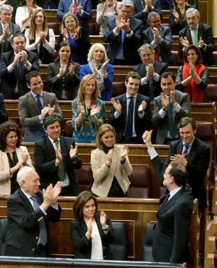 Cargos del PP creen que los posibles sustitutos sacarían más votos que Rajoy