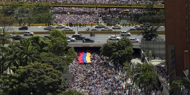 """La oposición llama a la """"toma de Caracas"""" el 1 de septiembre"""