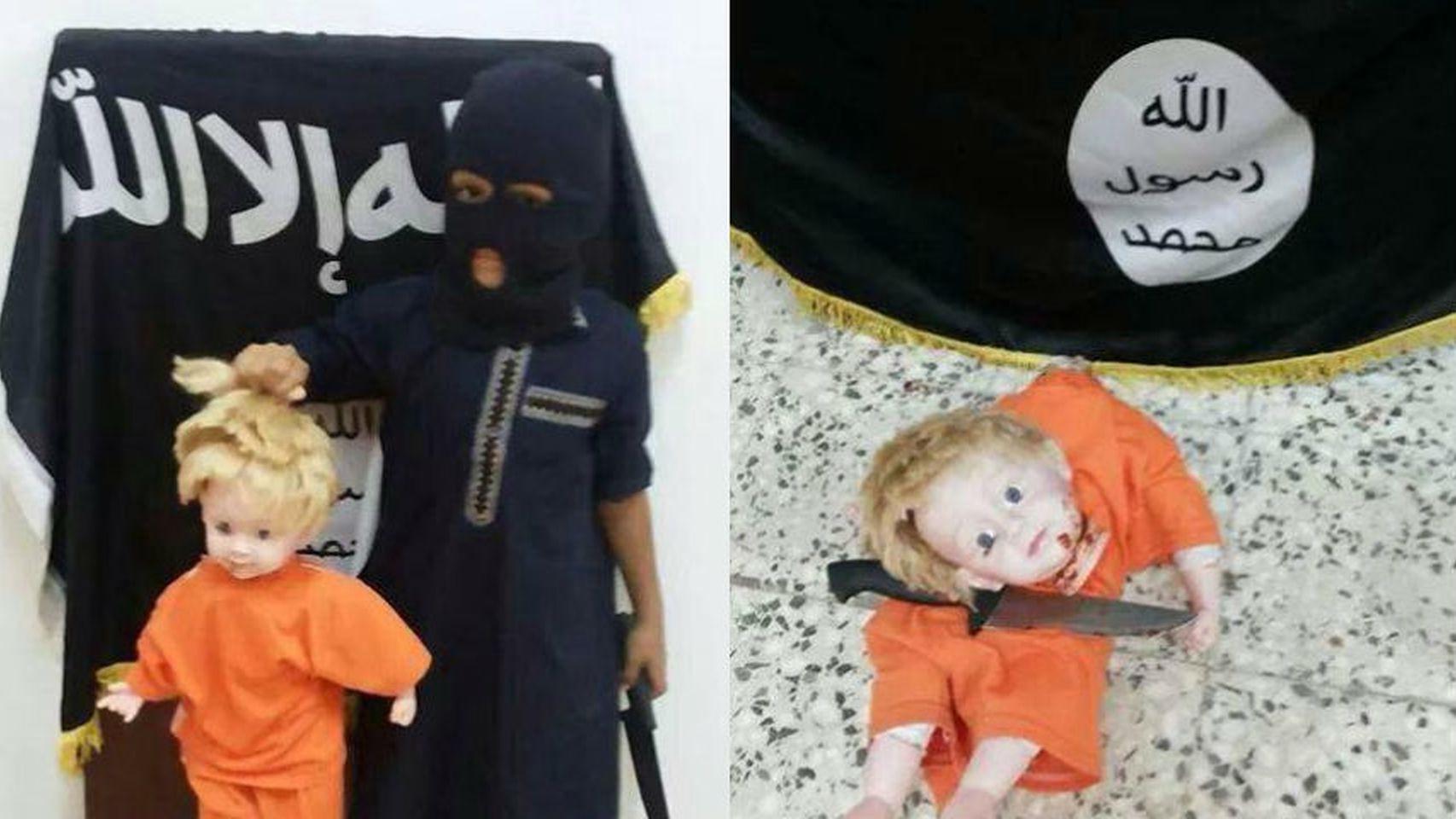 En clase con el Estado Islámico: así enseñan a los niños a decapitar o armar un rifle