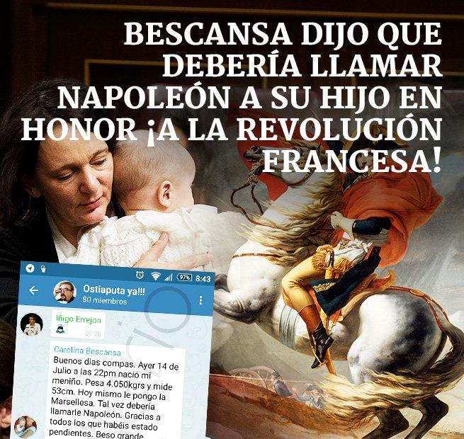 La cultura revolucionaria de Bescansa.