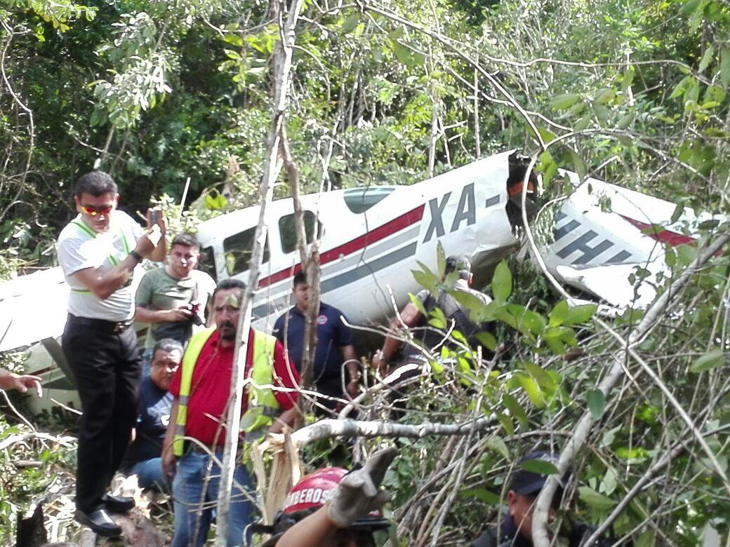 ACCIDENTE AEREO EN LA RIVIERA MAYA