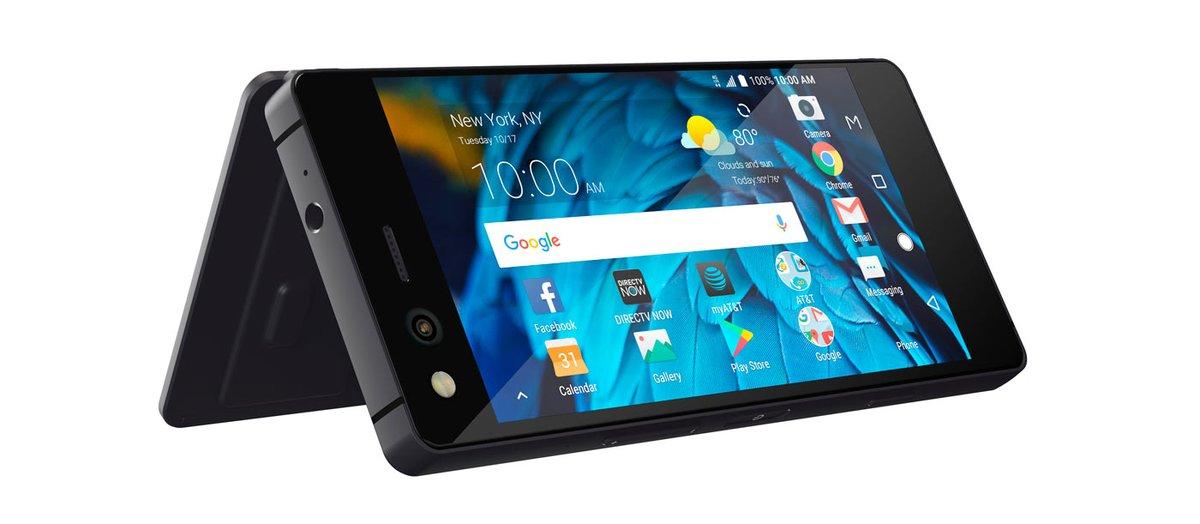 ZTE revoluciona el mercado con un smartphone plegable de doble pantalla