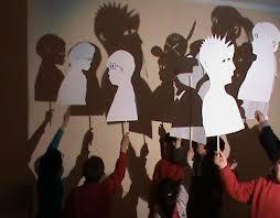 Comienzo del teatro de sombras