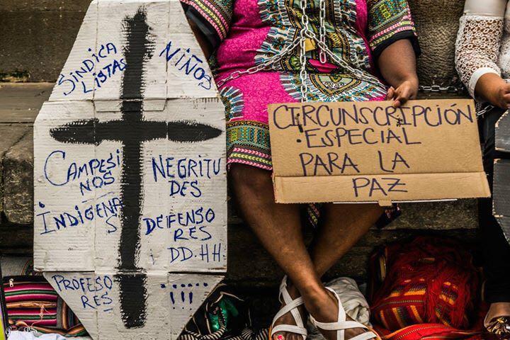 Pueblos en Resistencia (Foto reportaje Angelica Pinedo Silva- Colombia)