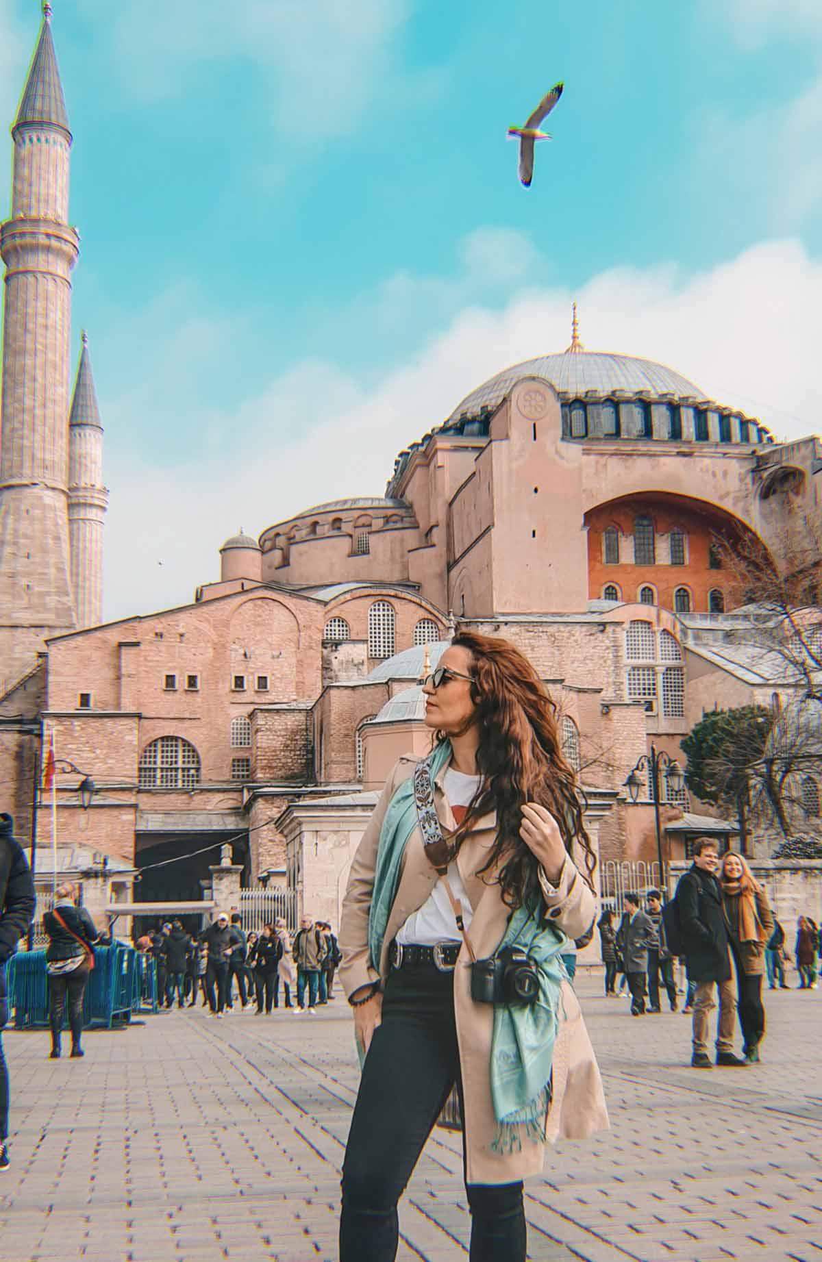 Santa Sofía, en Estambul