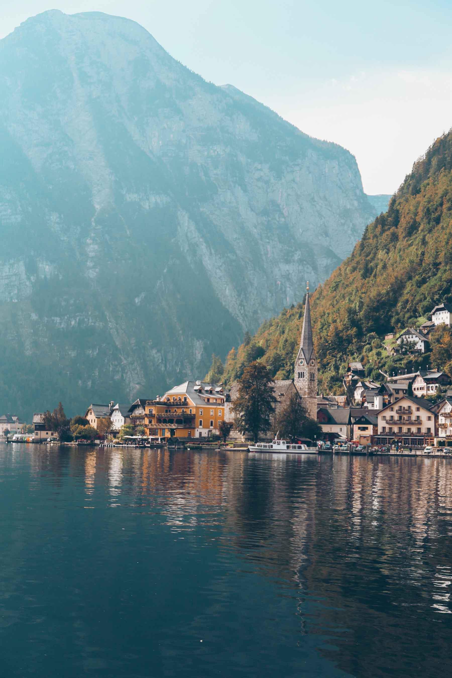 Hallstatt, un pueblo a orillas del lago