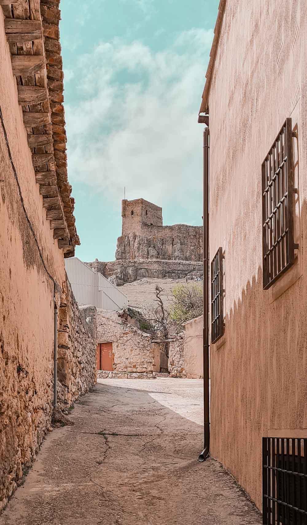 El castillo de Atienza es uno de los más bonitos de la provincia de Guadalajara