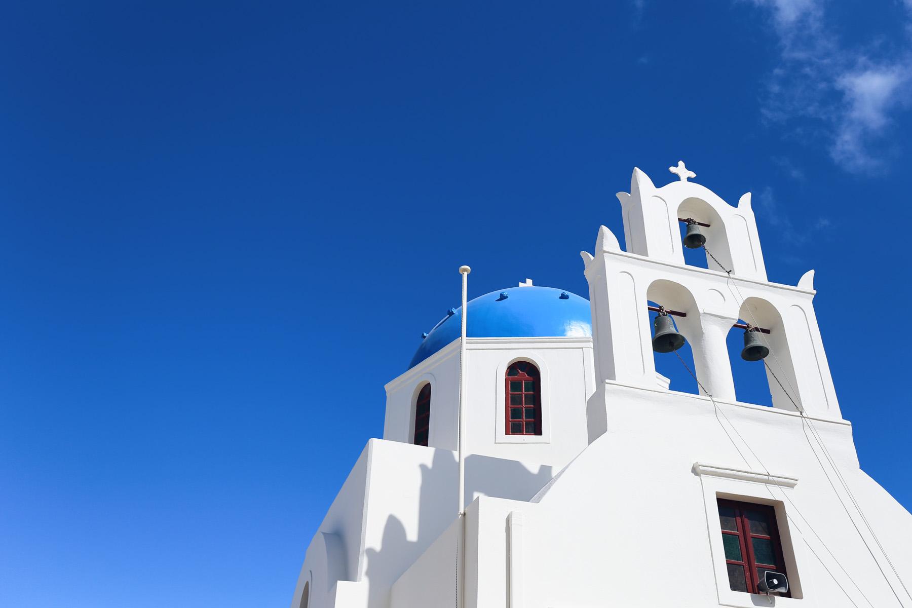 Oia, en Santorini
