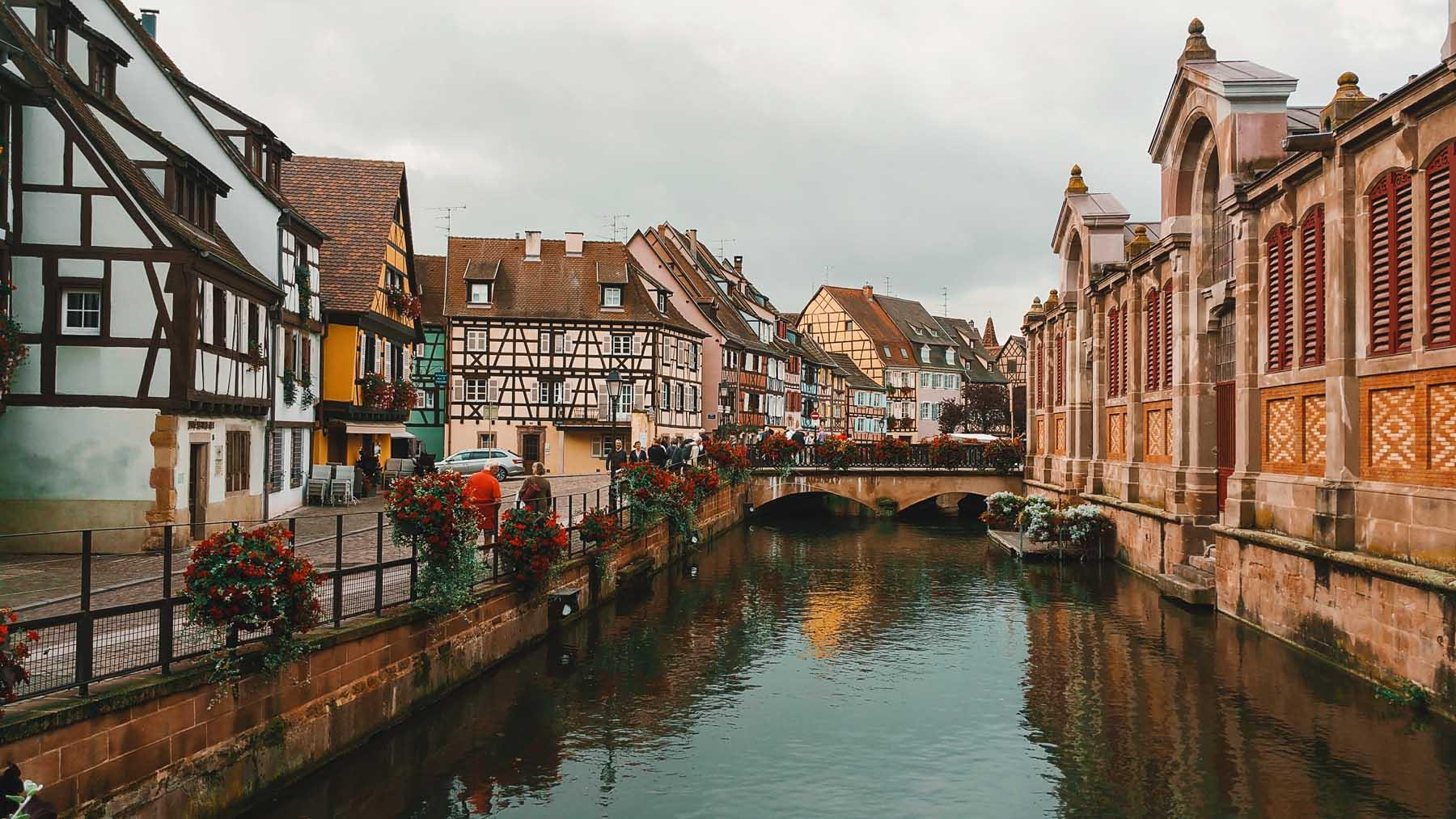Colmar, un pueblo con encanto en Francia