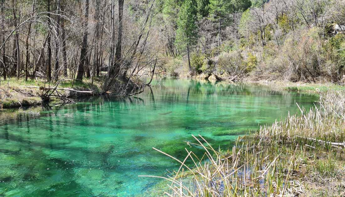 La zona de laguna de Taravilla es un rincón con mucho encanto en la provincia de Guadalajara