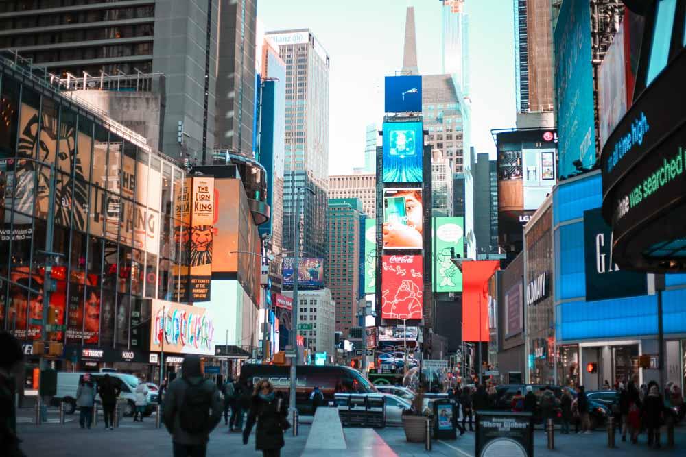 Times Square en directo