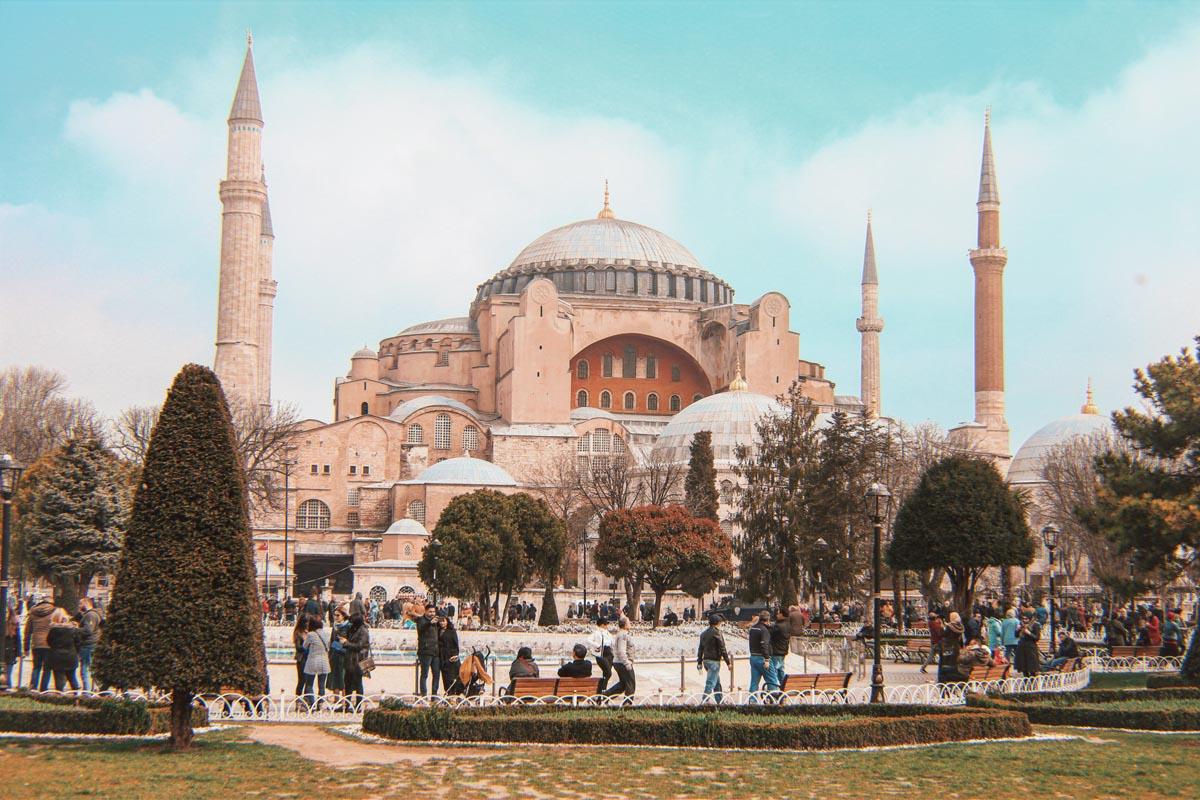 Santa Sofía en Estambul actualmente es un museo