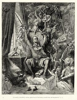 Que trata de la condición y ejercicio del famoso hidalgo D. Quijote de la Mancha