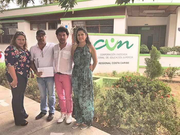 Presidente Rector de la CUN visitó sede Santa Marta