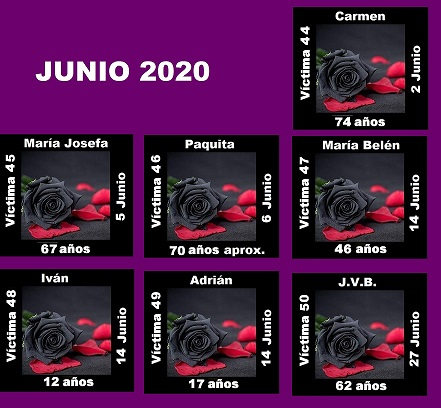 JUNIO 2020 (7 ASESINATOS MACHISTAS)