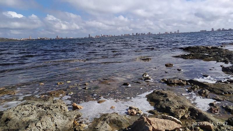 El Mar Menor visto desde El Salar y Punta de Las Lomas