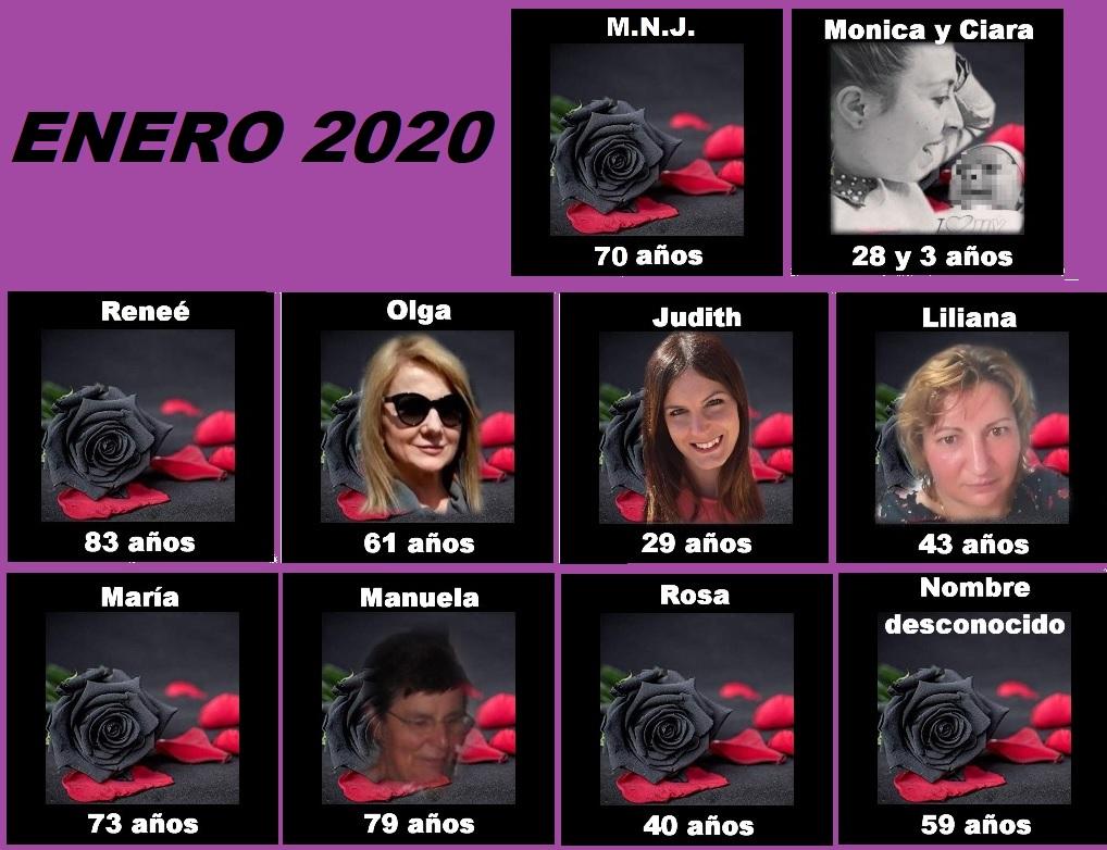 ASESINATOS MACHISTAS ENERO 2020