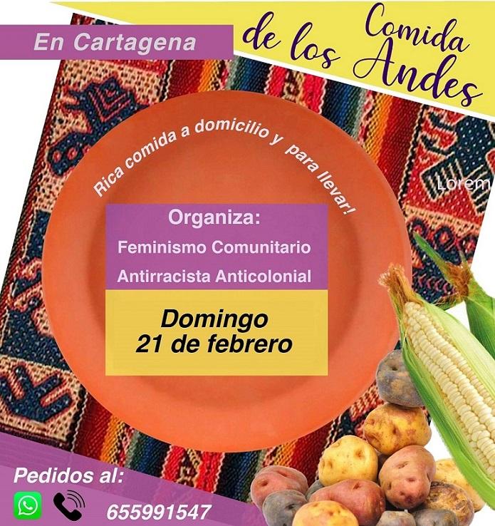 En Cartagena Feminismo Comunitario Antirracista Anticolonial conecta con la comunidad a través de la cocina Andina