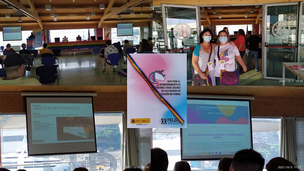Las XI Jornadas Nacionales por la Educación FELGTB se han celebrado en Cartagena por la inclusión y la diversidad