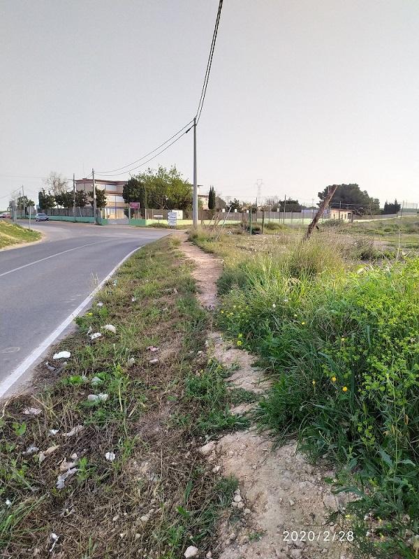 Carretera de la Asomada, territorio Comanche