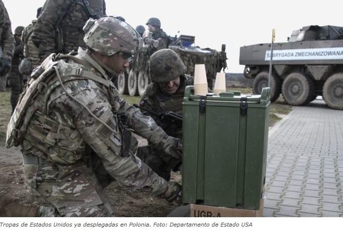 EEUU se ríe de Europa en plena Pandemia y envía 30.000 soldados de maniobras, en claro enfrentamiento con Rusia