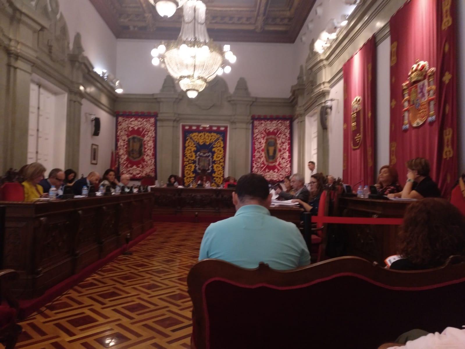 Acudimos al pleno de hoy para apoyar dos mociones, declarar el Estado de Emergencia y salvar la pinada de Cuatro Picos