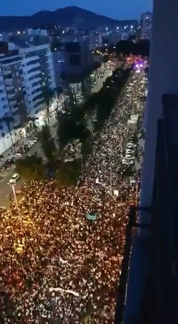 30 DE OCTUBRE Y CON MOTIVO DE LA GRAN MANIFESTACIÓN POR EL MAR MENOR