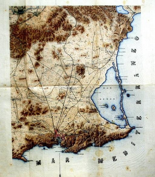 El paseillo de hoy lunes 28 Octubre, dedicado al Mar Menor, el 30 Octubre acude a la manifestación por él