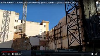 Cartagena El Cortijo de Mariano Roca o de como en un casco antiguo su parcela no tiene restos arqueológicos