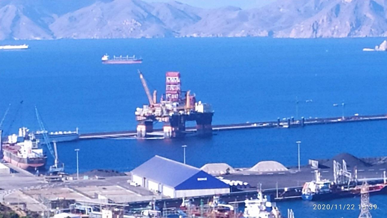 Primera de muchas plataformas petrolíferas en Cartagena, ¿a qué precio ecológico?