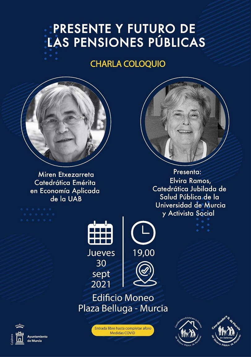 Miren Etxezarreta y Elvira Ramos aclaran dudas sobre el presente y futuro de la pensiones públicas
