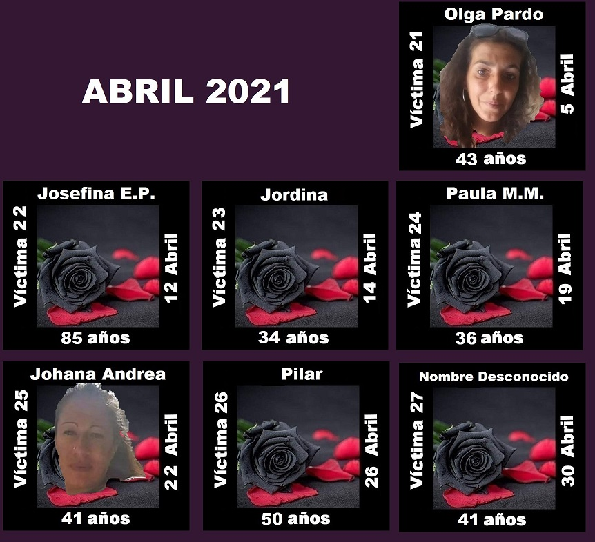 ABRIL 2021 (7 ASESINATOS MACHISTAS)