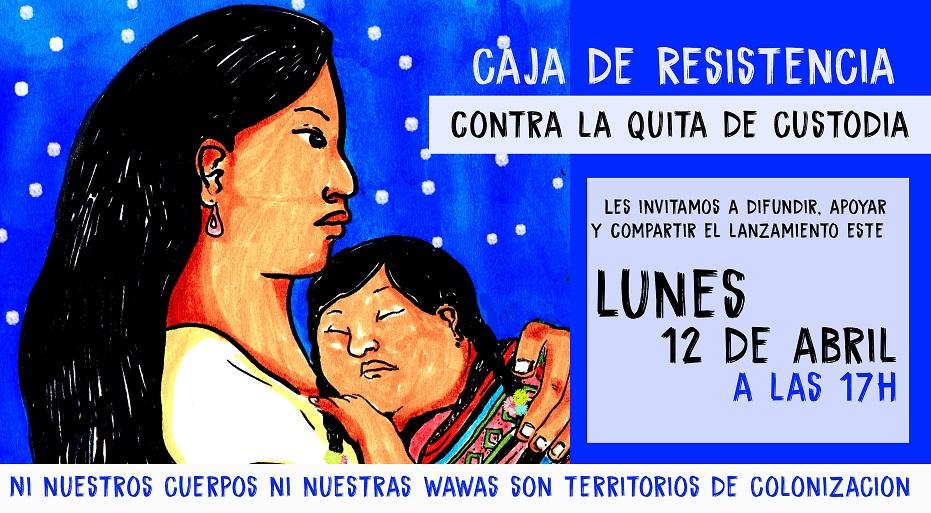 ESTE LUNES 12 ABRIL A LAS 17:00 FEMINISMO COMUNITARIO ANTIRRACISTA ANTICOLONIAL LANZA CAJA DE RESISTENCIA PARA AYUDAR A UNA HERMANA