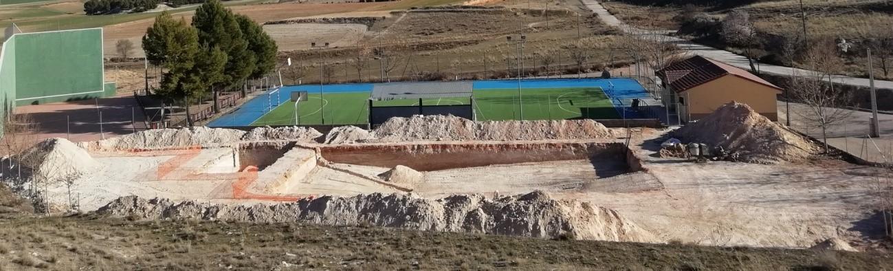""""""" Creación de tres nuevas instalaciones deportivas en las localidades de Tarancón y Belinchón """""""