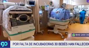 """Defensoría del Pueblo: """"Enfermeras no cuentan con equipos suficientes para brindar una adecuada atención a los recién nacidos""""."""