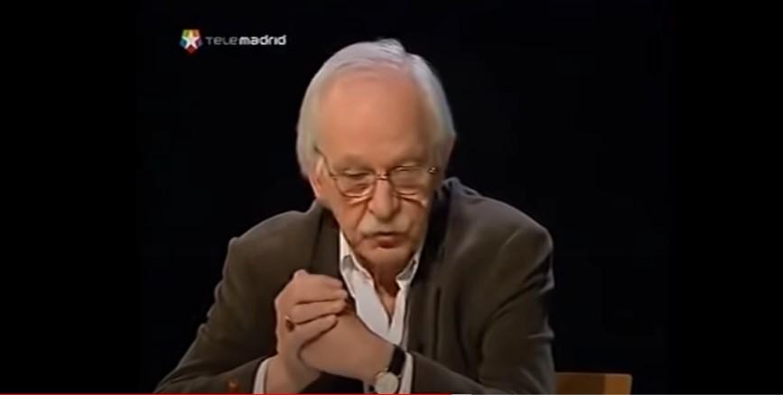 Antonio Escohotado en el programa literario Noches Blancas