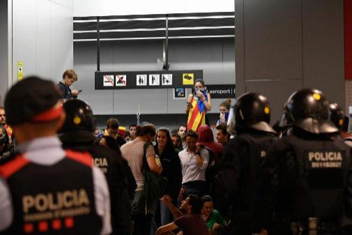 Sentencia del procés: El Govern investigará la actuación de los Mossos en El Prat