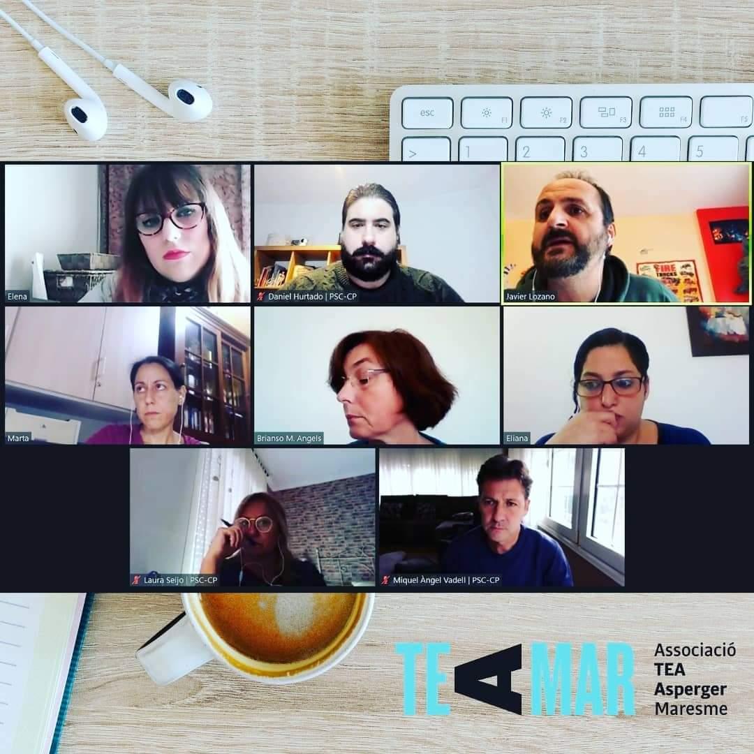 Reunió amb representants de l'Ajuntament de Mataró