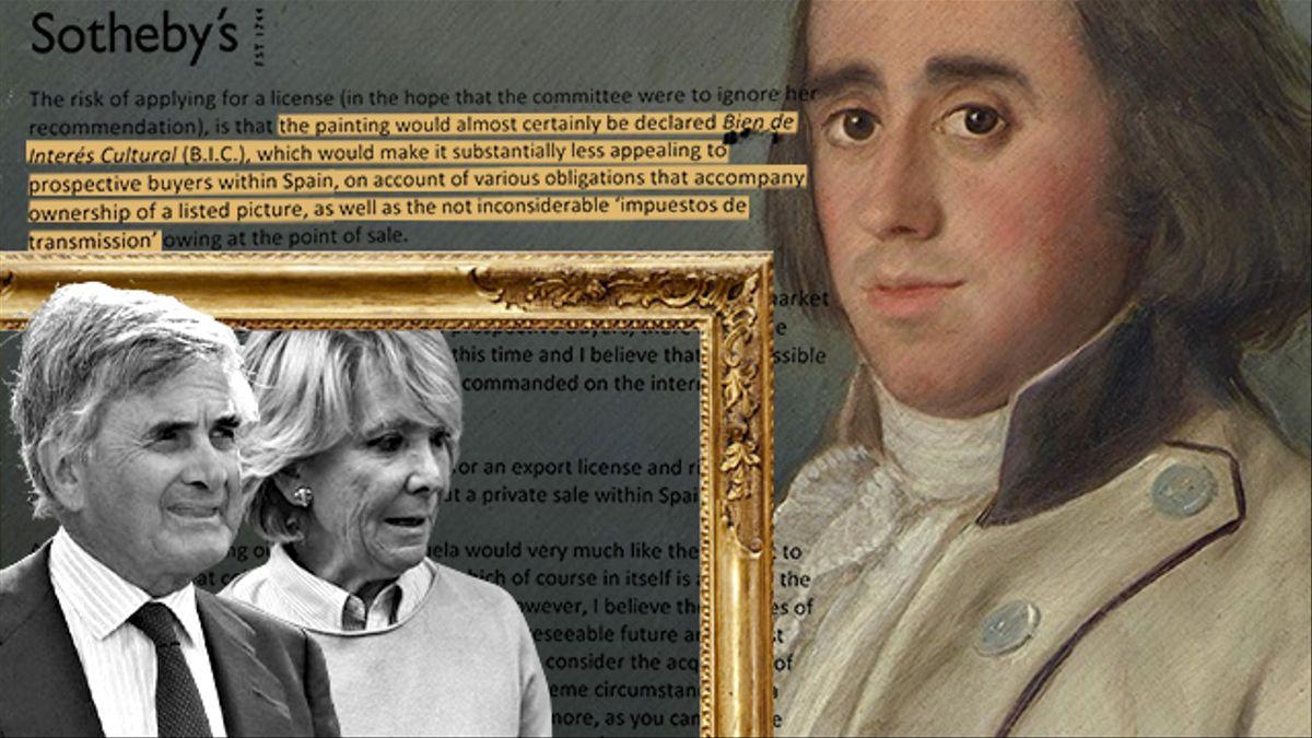 El Goya de Esperanza Aguirre