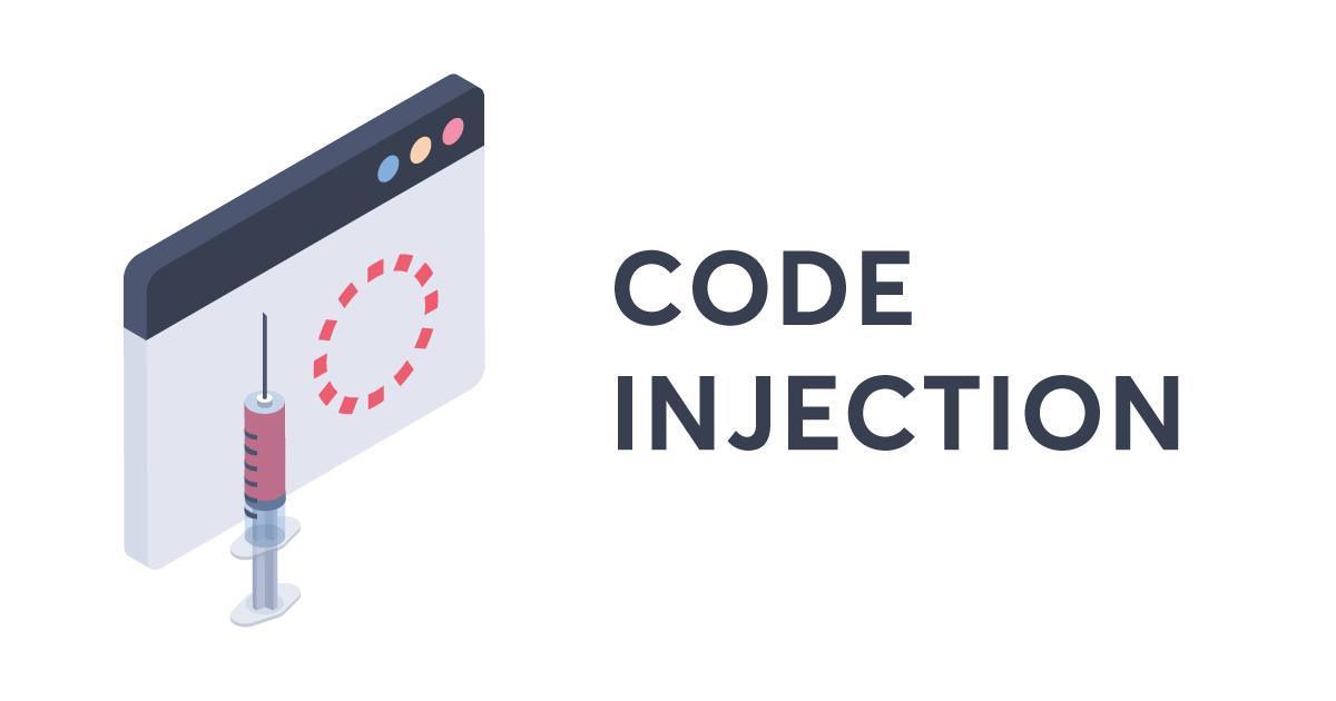 Code injection Warning